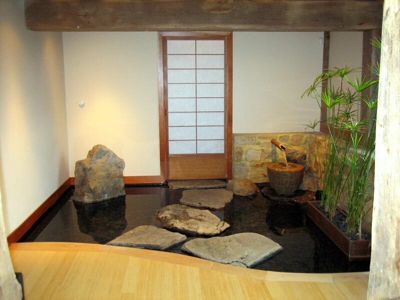 Mẫu hồ cá Koi hiện đại trong nhà 9